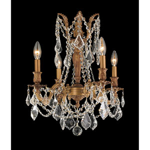 Windsor French Gold Four-Light Chandelier