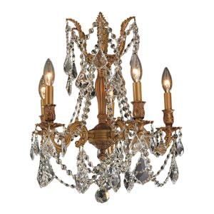 Windsor French Gold Five-Light Chandelier