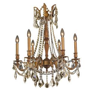 Windsor French Gold Six-Light Chandelier