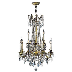 Windsor Antique Bronze 12-Light Chandelier