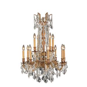 Windsor French Gold Twelve-Light Chandelier