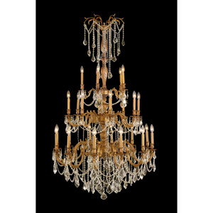 Windsor French Gold Twenty-Five Light Chandelier