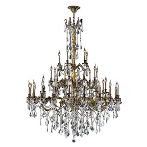 Windsor Antique Bronze Forty-Five Light Chandelier