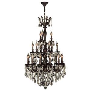 Versailles Flemish Brass 21-Light Chandelier