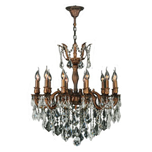 Versailles French Gold Twelve-Light Chandelier