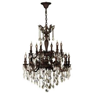 Versailles Flemish Brass 18-Light Chandelier
