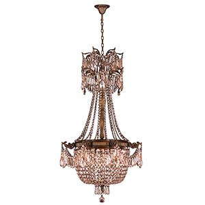 Winchester French Gold Four-Light Chandelier
