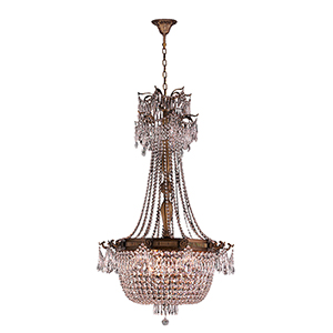 Winchester French Gold 10-Light Chandelier