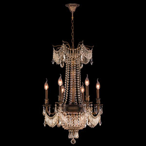 Winchester Antique Bronze Nine-Light Chandelier