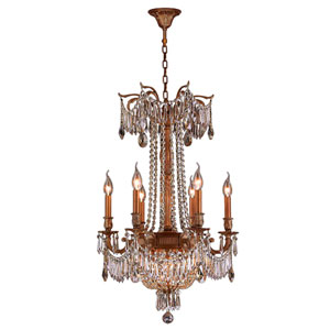 Winchester French Gold Nine-Light Chandelier