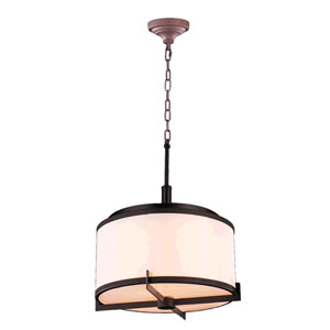 Madeline Dark Bronze Five-Light LED Pendant