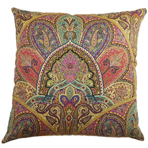 La Ceiba Paisley Pillow Gemstone