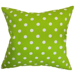 Nancy Green 18 x 18 Patterned Throw Pillow