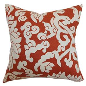 Erdenet Floral Pillow Cinnabar