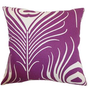 Lamassa Peacock Pillow Plum