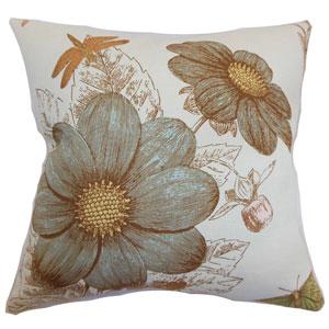 Mareeba Floral Pillow Aqua