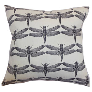 Nkan Dragonfly Pillow Black