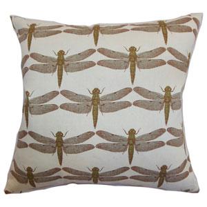Nkan Dragonfly Pillow Aqua