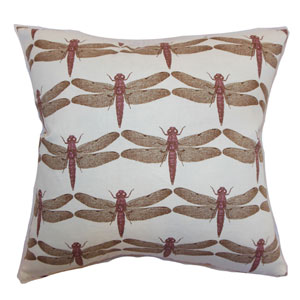 Nkan Dragonfly Pillow Lavender
