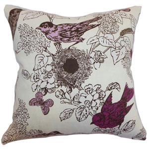Ouvea Birds Pillow Lilac