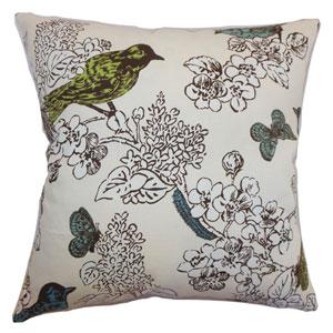 Ouvea Birds Pillow Sea Grass