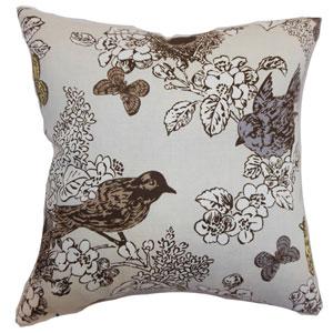 Ouvea Birds Pillow Smoke