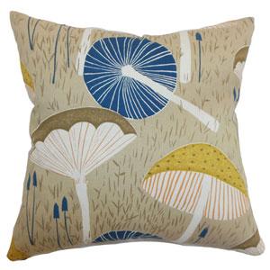 Xichan Floral Pillow Burlap