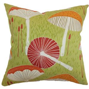 Xichan Floral Pillow Moss