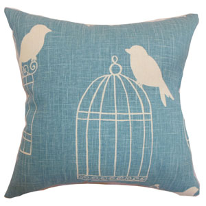 Alconbury Birds Pillow Aquadisiac