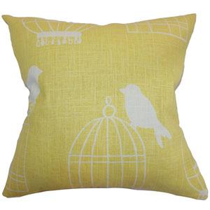 Alconbury Birds Pillow Canary