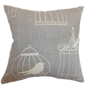 Alconbury Birds Pillow Smoke
