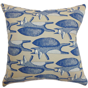 Babolsar Slugs Pillow Denim