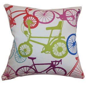 Echuca Bicycles Pillow Confetti
