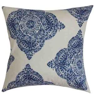 Daganya Purple 18 x 18 Patterned Throw Pillow