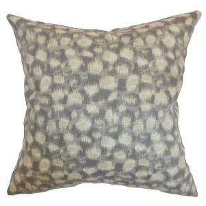 Imperartiz Sand 18 x 18 Geometric Throw Pillow