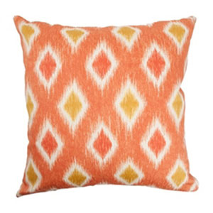 Faela Diamond Pillow Melon