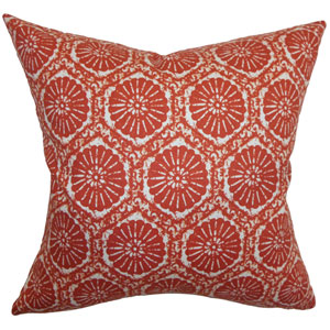 Cniva Floral Pillow Cayenne