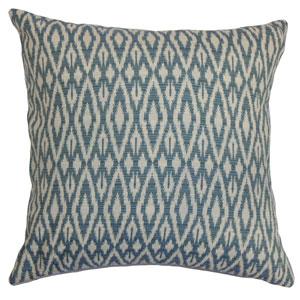 Hafoca Ikat Pillow Denim