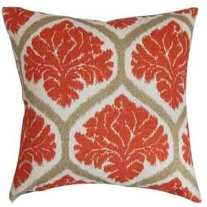 Priya Russett 18 x 18 Floral Throw Pillow