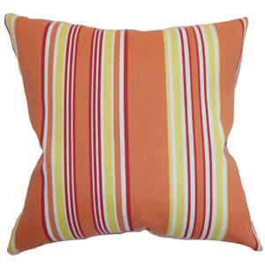 Fergus Stripes Pillow Blaze