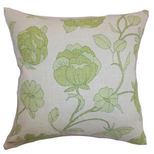 Lalomalava Floral Pillow Spring Green