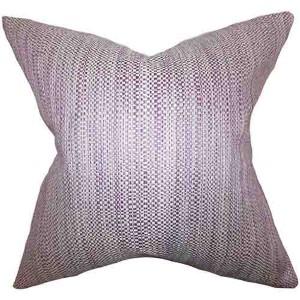 Zebulun Purple 18 x 18 Patterned Throw Pillow