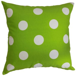 Rane Green 18 x 18 Patterned Throw Pillow