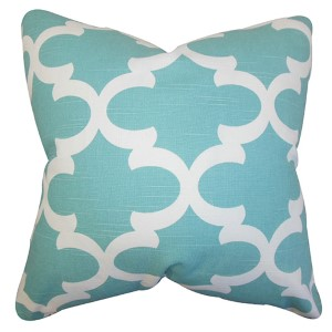 Titian Spirit 18 x 18 Geometric Throw Pillow