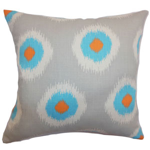 Paegna Ikat Pillow Chili Peppers