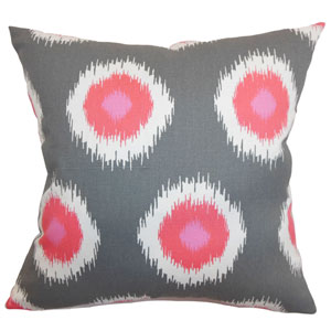 Paegna Ikat Pillow Flamingo