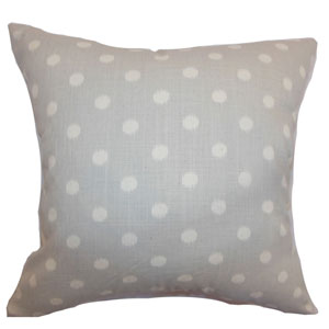 Rennice Ikat Dots Pillow Natural