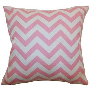 Xayabury Zigzag Pillow Baby Pink
