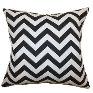 Xayabury Zigzag Pillow Black