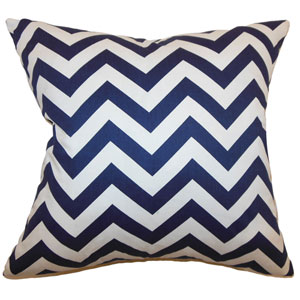 Xayabury Zigzag Pillow Blue